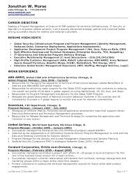 Objective For A Business Resume Resume Objective For Management