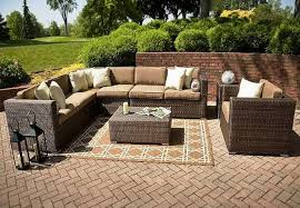 Patio 3 Pc Patio Set Outdoor Furniture Sofa Lowes Outdoor Dining