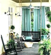 outdoor porch curtains screen beautiful patio ou
