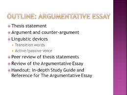 argumentative essay choo choo thesis statement ppt  2 outline argumentative essay