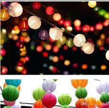 paper lantern lights paper lantern string lights outdoor string lantern