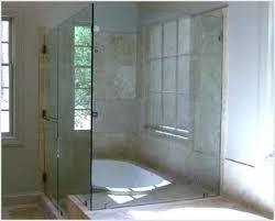 showers half glass shower door bath tub half glass half glass door in half glass shower door remodel glass shower door cleaner diy