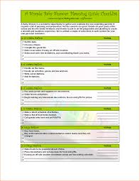 Sample Baby Shower Checklist Stylish Checklist Component Checklist Extension By Joomplace To 13