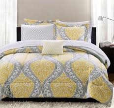 yellow bedding bedding sets grey