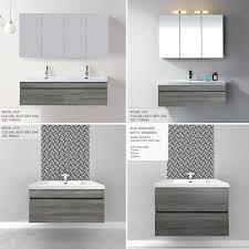 bathroom vanities wall mounted. ASTI-900mm-Light-Grey-Oak-Timber-Wood-Grain- Bathroom Vanities Wall Mounted