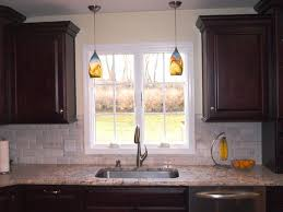 Pottery Barn Kitchen Lighting Kitchen Double Glass Pendant Lights Over White Island Hot Lighting