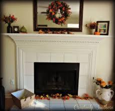Stone Fireplace Mantel Decorating Ideas  Fireplace Decor Ideas In Fireplace Decorations