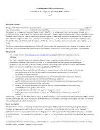 Partnership Proposal Samples Event Proposal Templates At Allbusinesstemplates Com