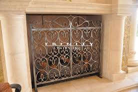 creative of iron fireplace screens with wrought iron fireplace screenstrinity stairs