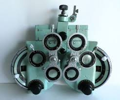 Eye Chart Machine Vintage Phoropter C 1950 1960 It Was Manufactured In Japan