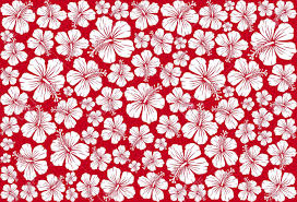 Hawaiian Pattern Fascinating Seamless Floral Pattern Whit Hibiscus Hibiscus Pattern Seamless
