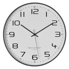 carmen silent wall clock by one six