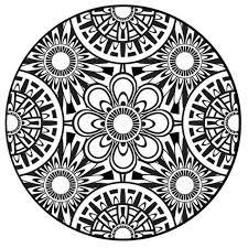 Coloring Page Mandala Instant Pdf Download Printable Coloring
