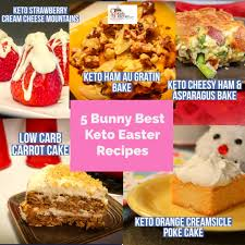 This easter cake recipe was easy to make, pretty to look at and fun to eat. 5 Bunny Best Keto Easter Recipes
