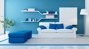 blue main tips for home decor