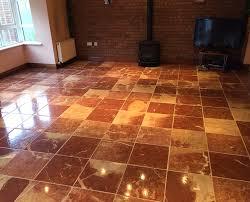 Red Marble Floor Tiles With Rojo Alicante Tiles  NalboorRed Marble Floors