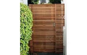 bespoke contemporary wooden garden gates the trellis company wood gate outdoor kit