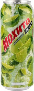 Напиток <b>Очаково Мохито</b> fresh среднегазированный с соком, 0,5 л