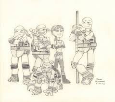 2012 Teenage Mutant Ninja Turtles Gang by FlowerPhantom on DeviantArt