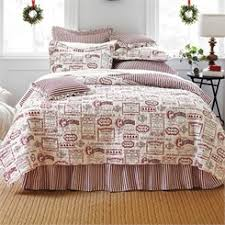 Shop Christmas Bedding: Bedspread, Quilts & Comforters | BrylaneHome & Vintage Christmas Quilt Adamdwight.com