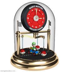 torsion pendulum clock. mario kart clock torsion pendulum