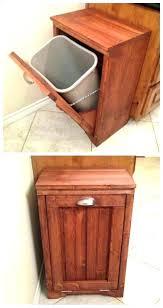 trashcan holder garbage can storage ideas best wooden trash can holder ideas on rustic garbage storage trashcan holder wooden trash can bin