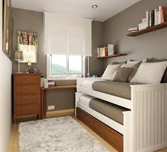 Furniture small bedroom Interior Design Great For Tiny Guest Room The Simple Clean Lines Of This Room Would Work Great In Nearly Any Home Might Try This For Guest Room More Elle Decor 25 Cool Bed Ideas For Small Rooms Home Pinterest Bedroom