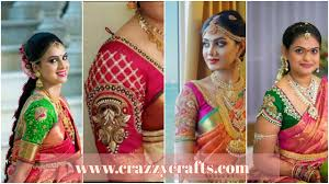 Saree Blouse Sleeve Designs 2018 Latest Embroidery Pattu Saree Blouse Sleeves Designs