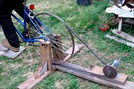 homemade electric generator. DIY Bicycle Generator Electricity 2 Homemade Electric