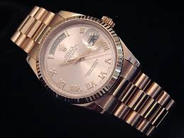 rolex president mens rose gold watches for 36mm beckertime beckertime mens rolex 118235