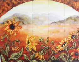 Murals For Kitchen Backsplash Kitchen Backsplash Murals