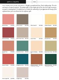 Sherwin Williams Green Color Chart Sherwin Williams Arts Crafts Historic Colors Interior