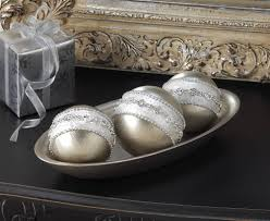 Decorative Balls For Bowl Decorative Silver Balls Set at Eastwind Wholesale Gift Distributors 50