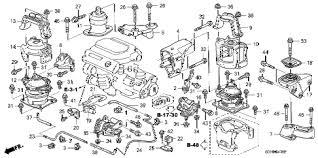 honda online store 2007 accord engine mounts v6 mt parts 2007 accord exv6 2 door 6mt engine mounts v6 mt diagram