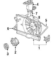 parts com® lincoln ls cooling fan oem parts fan and motor ls6 ls8 1