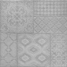 Patterned Floor Tiles Bathroom Grey Patterned Floor Tiles Herbaceous Tiles 450x450x95mm Tiles