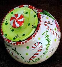 cookie jar painted at themadpotter west houston