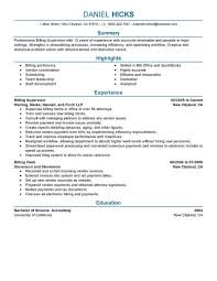 Law Clerk Sample Resume Best Legal Billing Clerk Resume Example LiveCareer 2