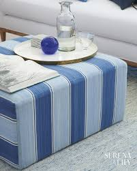 a beautifully coastal coffee table