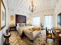 master bedroom lighting. CI-Taj_Rajput-Suite-bedroom-chandelier-pattern-white_s4x3 Master Bedroom Lighting HGTV.com