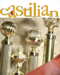 brass curtain rods. Castilian Brass Curtain Rods 3