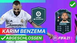 POTM: KARIM BENZEMA 94 🟠 Günstige SBC Lösung ohne Loyalität | FIFA 21  Ultimate Team - YouTube