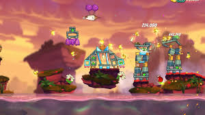 Angry Birds 2 - The Summer Party Adventure - level 9 with all birds -  YouTube