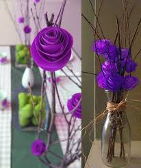 Wedding Paper Flower Centerpieces Paper Flower Centerpiece Ideas They Dont Have To Be Paper A Few