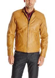 lucky brand men s thruxton leather jacket large