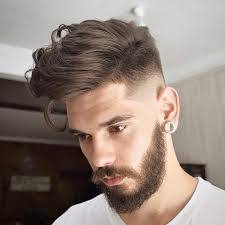 3 high fade with long hair on top
