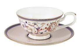 <b>Чайная пара</b> Anna Lafarg Emily <b>Королева</b> Анна, 200 мл, на 1 перс ...