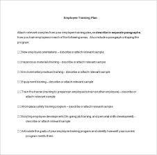 New Employee Training Program Template 29 Training Plan Templates Doc Pdf Free Premium