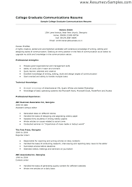 Communications Resume Template Best Media Communications Resume ...