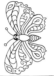 Disegni Gratuiti Da Colorare Farfalla Da Colorare Disegni